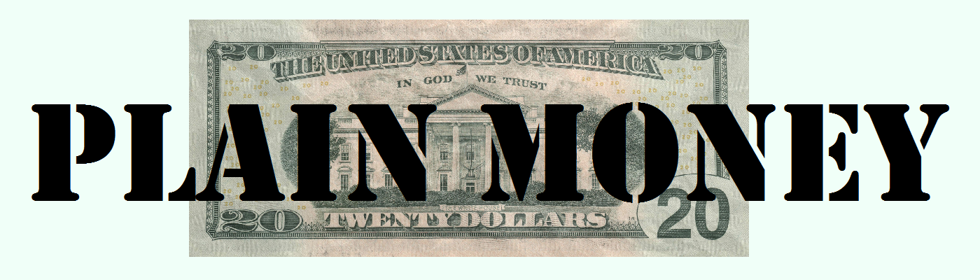 Plain Money header